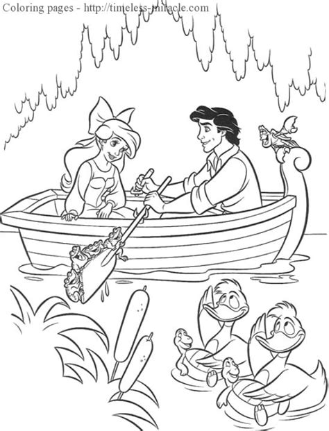 the little mermaid coloring pages ariel and eric coloring pages ariel
