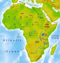africa map geography physical and political maps world atlas period 4