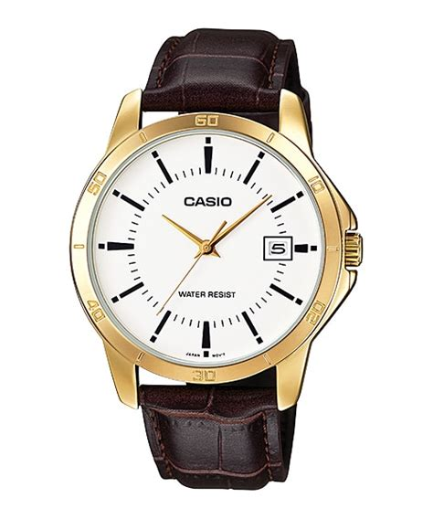 Casio Ltp V004g 9b Original mtp v004gl 7a analog gent s dress timepieces casio