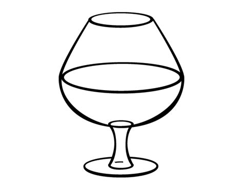 Wine Glass Coloring Page glass of wine coloring pages