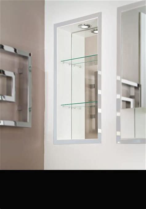 Recessed Bathroom Cabinets Flush Mirror Cabinets In Bathroom Mirror Cabinet Recessed