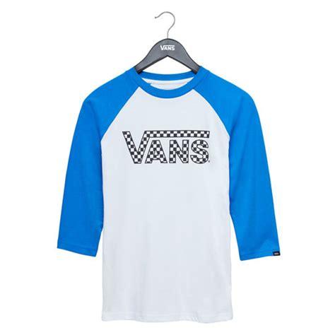 T Shirt Raglan Vans vans classic raglan t shirt white vans