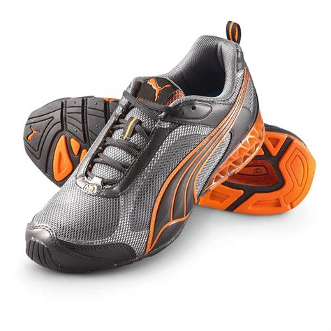 orange athletic shoes s 174 cell cerano athletic shoes black gray
