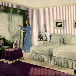 Atomic Interiors Fashionable Forties Planning A 1940 S Bedroom