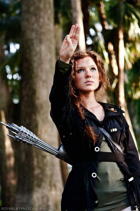katniss everdeen cosplay fan moments pinterest game katniss everdeen and the hunger game