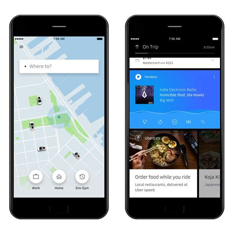Design App Like Uber | uber s new app will predict where you re going