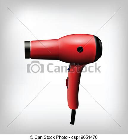 Hair Dryer Stock Clip vectors illustration of dryer isolated clip illustration csp19651470 search