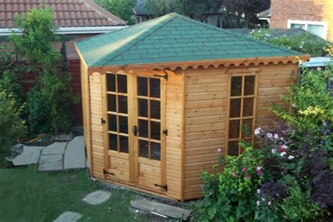 Corner Sheds For Sale by Corner Summer Houses For Sale
