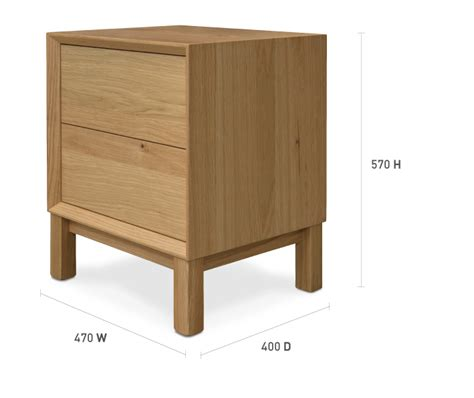 bedside table dimensions oslo bedside table 2 drawers bedroom furniture
