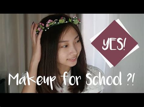 Tutorial Makeup Natural Sekolah | tutorial makeup untuk sekolah makeup for school youtube