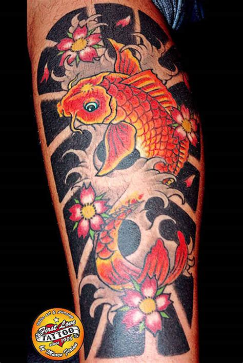 coy fish tattoo meaning 116 fish koi tattoos images with meaning