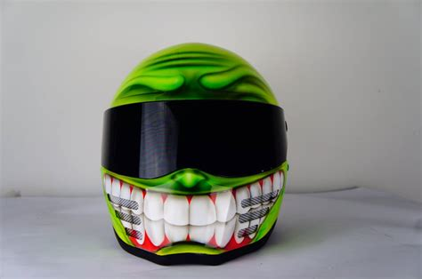 airbrushed motocross helmets smiley face airbrushed helmets motorcycle helmet custom