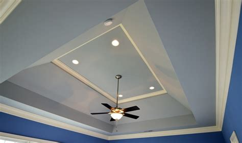 sloped hip tray specialty ceiling treatments
