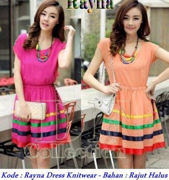 Jual Website Tangan Pertama Korea Pink Baju Anak grosir baju korea murah rayna dress knitwear modenagrosir