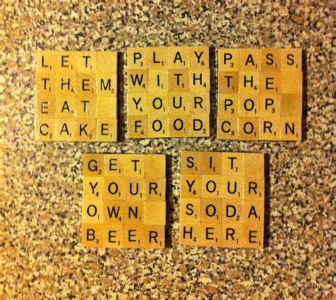 is ba a word in scrabble best 20 scrabble tile crafts ideas on