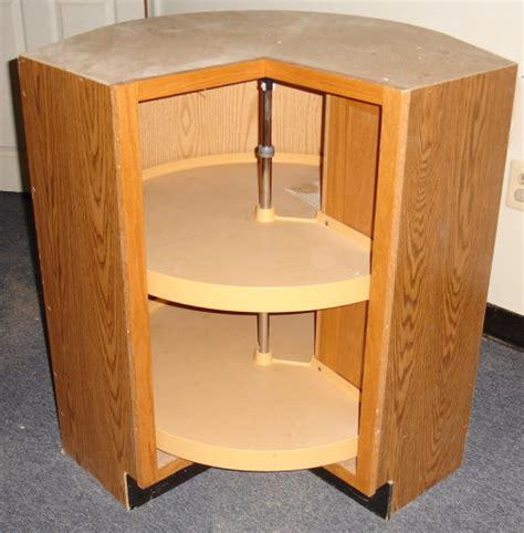 lazy susan for corner cabinet oak corner turnstile rotating kidney lazy susan base