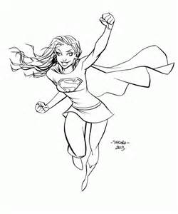 supergirl coloring pages supergirl coloring page az coloring pages