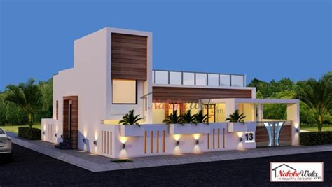 Duplex Style by 3d Front Elevation Design Indian Front Elevation Kerala