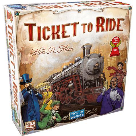 Braintopia Board ticket to ride board the