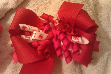valentines day bow i hart bows s day bows