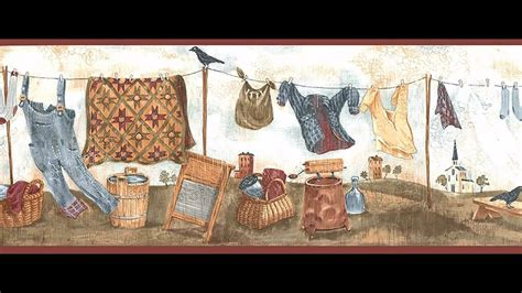 room borders fabulous wallpaper borders for laundry room decorating ideas