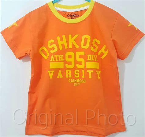 kaos orange oshkosh 95 virsaty 1 6 oshkosh b gosh