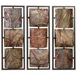 casa cortes sienna vines metal wall art decor free shipping today metal b 17 bomber wall decor posters wall murals signs gifts and