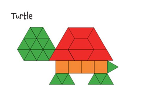 templates for pattern blocks kindergarten free paper pattern block templates printable pattern