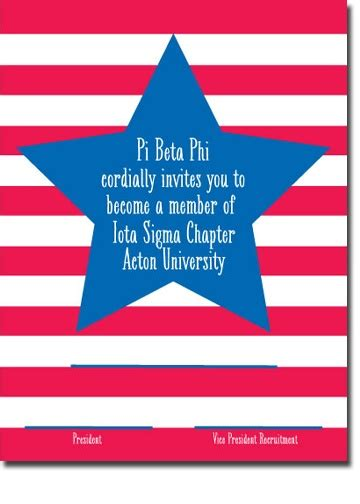 bid day card sorority recruitment template 17 best images about bid day cards on
