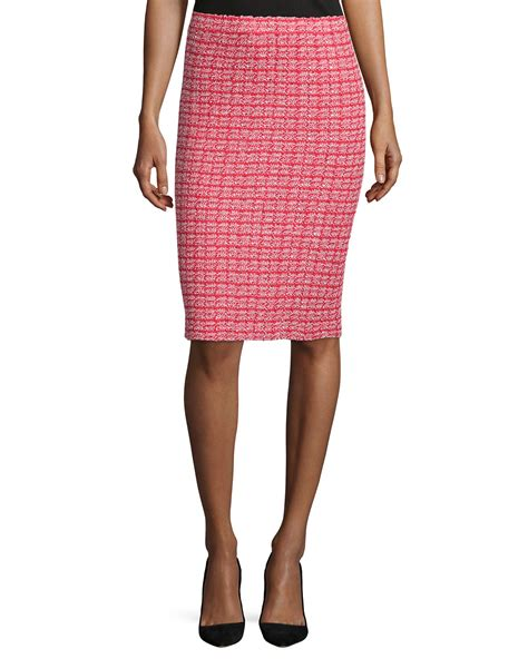 knit skirt lyst st boho knit tweed pencil skirt in
