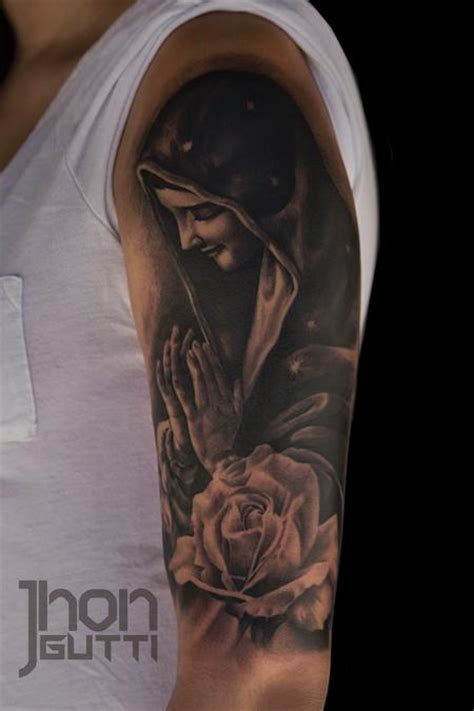 guadalupe tattoo our of guadalupe virgen de guadalupe by jhon gutti