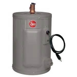 home depot electric water heater rheem performance 2 5 gal 6 year 1440 watt single element