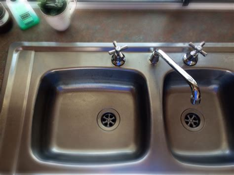 Removing Kitchen Sink How To Clean Your Kitchen Sink Without Harsh Chemicals Cooking For Busy Mums
