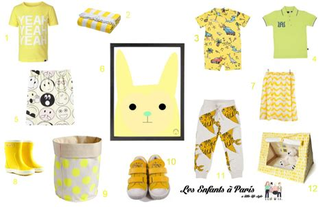 various shades of yellow different shades of yellow les enfants 224 paris