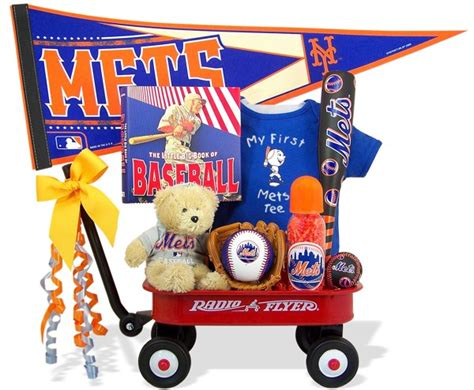 gifts for mets ny mets baseball wagon all about gifts baskets