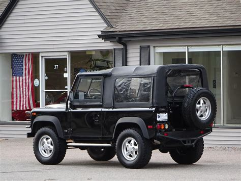 1995 land rover defender interior 1995 land rover defender 90 convertible copley motorcars