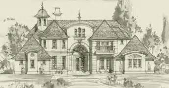 Custom French Country House Plans French Country Cottage French Country Homes House Plans