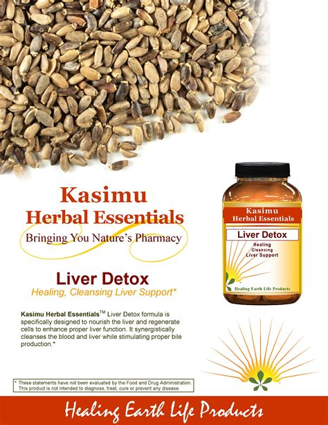Fda Approved Detox by Liver Detox Healing Earth Products