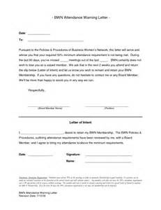 written warning template for attendance best photos of employee attendance reprimand letters