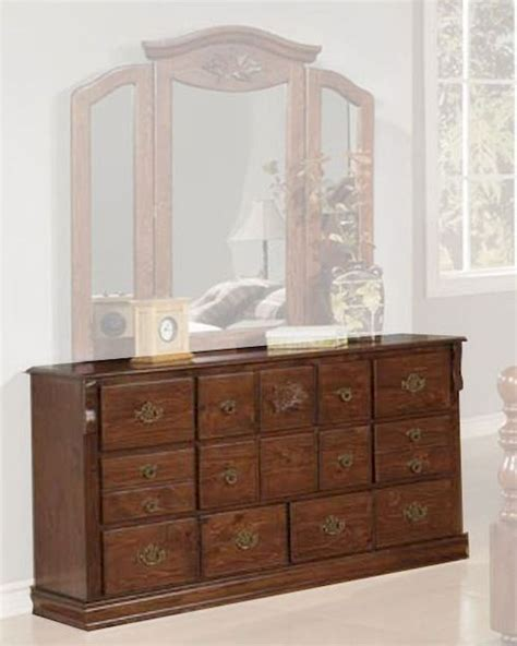 Walnut Finish Dresser by Acme Furniture Dresser In Walnut Finish Ac01725a