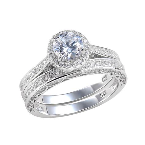 2 4 ct cut aaa cz solid 925 sterling silver wedding