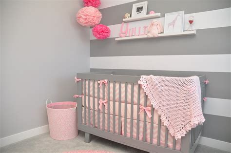 pink and grey nursery pink and grey baby nursery ideas mippoos