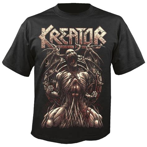 Kaos Slayer World Ensemble Gildan Tshirt kreator unleashed nuclear blast