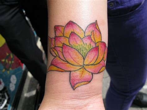 lotus tattoo on the forearm lotus tattoo images designs