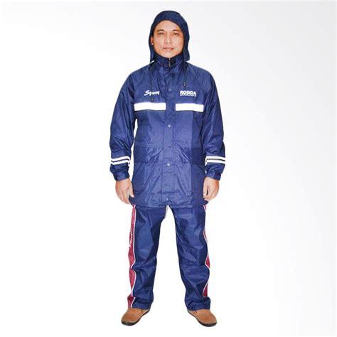 Jas Hujan Rosida R 882 Sporty 1 jual rosida 882 sporty jas hujan setelan biru dongker harga kualitas terjamin