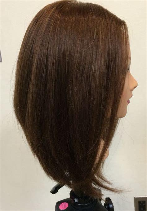 triangular bob triangular layered bob haircut hair style for triangular