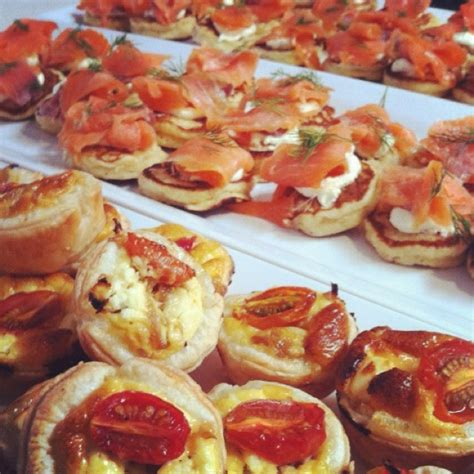 puff pastry canapes entertaining guests