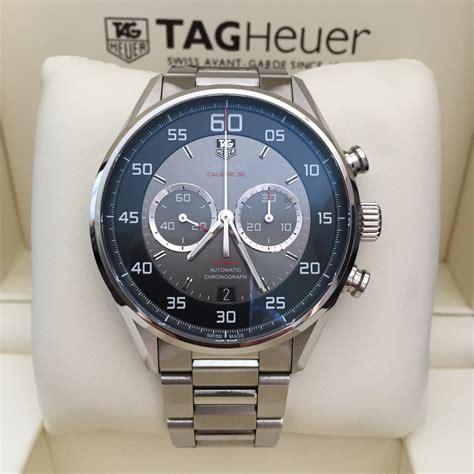 Jam Tangan Replika Tag Heuer Chronograph Ss Black Swis jual beli tukar tambah service jam tangan mewah arloji original buy sell trade in service