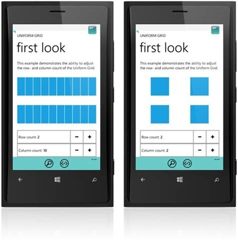 home design software for windows phone windows phone 8 layout using grid control raduniformgrid