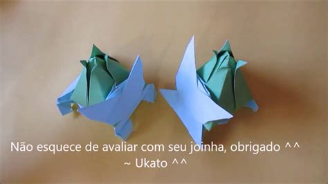 How To Make Origami Bulbasaur - bulbasaur de origami